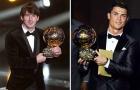 Đội hình 11 cái tên xuất sắc nhất từng giành Quả bóng vàng: Modric vắng mặt!