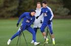 Jorginho báo tin vui cho NHM Chelsea trên sân tập
