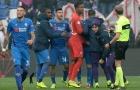 Điên rồ Serie A! 15 phút cuối, 3 bàn thắng, 2 thẻ đỏ