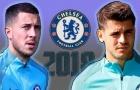 Góc Chelsea: Hazard sẽ đánh bật Morata ở vị trí số 9?