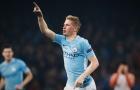 02h45 ngày 19/12, Leicester vs Man City: De Bruyne lãnh ấn hàng công