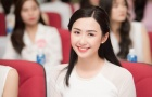 Ngắm nhan sắc mỹ miều của hoa hậu - fan Quang Hải