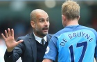 De Bruyne: 'Pep Guardiola đã sai'