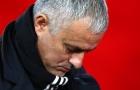 Những con số thảm bại của Mourinho tại Man Utd