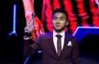 Tiền vệ Chanathip giành Quả bóng vàng Thái Lan 2018