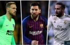 ĐHTB La Liga nửa đầu mùa giải 2018/2019: Đôi chân Messi, bàn tay Oblak