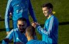 Đá xong trận đầu, tân binh tự tin sánh vai cùng đàn anh ở Real Madrid