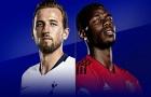 Đội hình siêu mạnh kết hợp từ Tottenham và MU: Pogba sánh đôi cùng Kane