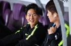 'Messi Hàn Quốc' không được trọng dụng vẫn tươi rói trên ghế dự bị