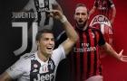 00h30 ngày 17/01, Juventus vs AC Milan: Lần đầu cho CR7?
