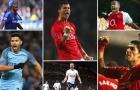 10 cầu thủ có hiệu suất ghi bàn/kiến tạo 'khủng' nhất lịch sử Premier League: Salah hơn CR7