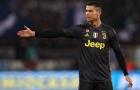 Trước khi ghi bàn, Ronaldo đã phải nổi cáu gào thét với các đồng đội