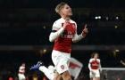 Đón sao Barcelona, Arsenal cũng nói lời chia tay với 'Bergkamp mới'