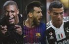 Messi, Mbappe, Ronaldo cạnh tranh khốc liệt trong cuộc đua Chiếc giày vàng