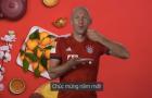 Arjen Robben đích thân chúc mừng năm mới người Việt Nam