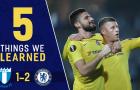 5 điểm nhấn Malmo 1-2 Chelsea: Sarri-ball thăng hoa, kẻ đóng thế hoàn hảo