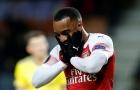 Chấm điểm Arsenal: Lacazette phụ lòng tin Emery