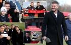 David Beckham ra dáng ông chủ Salford City