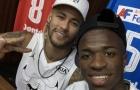 Hãy thử đặt Vinicius cạnh Neymar