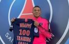 Mbappe bị chỉ trích vì ăn mừng bàn thắng thứ 100 trên sân tập