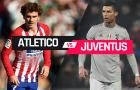 03h00 ngày 21/02, Atletico Madrid vs Juventus: Đỉnh cao chiến thuật