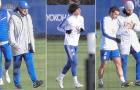 Đang giông bão, Sarri vẫn 'bình yên vô sự' trên sân tập Chelsea