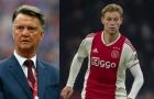 Louis van Gaal ngược chiều dư luận trong vụ De Jong đến Barca