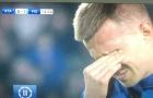 Nhớ về đồng đội cũ, sao Atalanta rơi nước mắt ngay trên sân