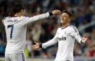 Ozil phản ứng ra sao khi Ronaldo hủy diệt Atletico?