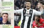 Ronaldo nói với cựu sao M.U trước trận gặp Atletico: 'Tôi sẽ hủy diệt họ'