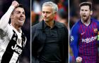 Theo Mourinho, Messi và Ronaldo xuất hiện cùng lúc là một sự kém may mắn