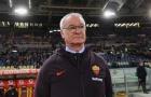 Ranieri đến Olympico và đây là phản ứng của người AS Roma