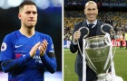 Hazard bày tỏ lời yêu với HLV Zidane