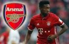 Vì một phát biểu, Alaba khiến Arsenal 'mở cờ trong bụng'
