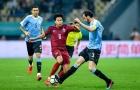 Bị Uruguay 'giã nát' 4-0, HLV Thái Lan vẫn sung sướng vì 1 điều