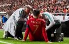 Ronaldo phá vỡ im lặng khi rời sân chỉ sau 30 phút