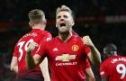Luke Shaw đang khiến các đồng đội ở Man Utd phải 'hổ thẹn'