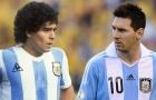 'Messi sẽ không bao giờ đạt đến đẳng cấp của Maradona'
