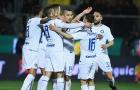 Mauro Icardi im lặng, Inter Milan vẫn dễ dàng đánh bại Frosinone
