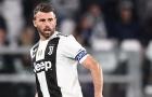 Andrea Barzagli chia tay Juventus: Tạm biệt 'The Wall'