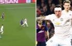 Messi biến Phil Jones thành 'gã học việc' 3 lần trong 10 giây