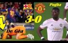 Pogba phản ứng không thể tin nổi khi Messi ghi bàn