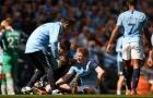 'De Bruyne chấn thương là điều dĩ nhiên'