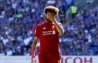 SỐC: Bị đồng đội cướp bàn thắng, Salah giận không thèm ăn mừng chung