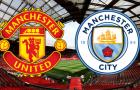 Cả nước Anh 'dở khóc dở cười' vì trận derby Man Utd - Man City