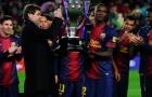 Barcelona tri ân 'huyền thoại 100 điểm'