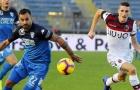 Thắng chung kết ngược, Bologna rộng đường trụ hạng