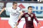AC Milan tiếp tục gặp họa sau thất bại trước Torino