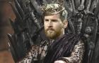 Góc biếm họa: Đức vua Lionel Messi sau đêm Camp Nou huyền ảo
