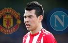 """Napoli chốt giá mua """"mục tiêu 7 năm"""" của Man Utd"""